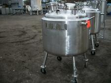 Precision Stainless 100 gal 316L Stainless Steel Jacketed Tank
