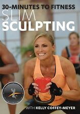 KELLY COFFEY-MEYER 30 MINUTES TO FITNESS SLIM SCULPTING KETTLEBELL WORKOUT DVD