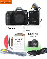 Canon EOS 5D MK II Digital SLR Camera Body,Battery,Charger Free UK Post