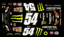 #54 Kyle Busch  Cambry 2012 1/32th Scale SLOT CAR WATERSLIDE DECALS A