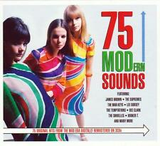 75 MODERN SOUNDS - 75 ORIGINAL HITS FROM THE MOD ERA - VARIOUS ARTISTS (NEW 3CD)