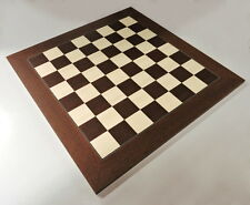 Montgoy Palisander And Maple Chess Board, Made in Spain
