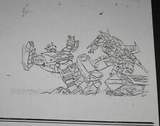1986 Takara Transformers TV Magazine Internal Art Copy Sideswipe Starscream