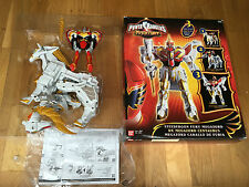 POWER RANGERS MYSTIC FORZE steedergon Megazord 100% completo in scatola BEL Set