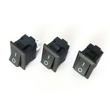10pcs New Car Truck Boat type Rocker 2 Pin ON OFF Toggle SPST Switch 125V 6A