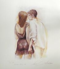 "LENA SOTSKOVA ""THE DATE"" Hand Signed Limited Edition Giclee Study on Paper"