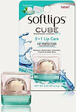 Mentholatum Softlips Cube Lip Care, Fresh Mint, 0.23 oz