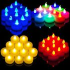 12PCS Candles Tealight LED Tea Light Flameless Flickering Wedding Decor Battery