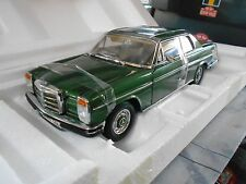 Mercedes Benz/8 e Coupe 280 280ce dark green 8 w114 w115 Sunstar rar 1:18