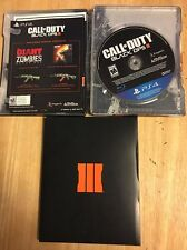 Call Of Duty Black Ops 3 SteelBook (PS4) WITH GAME