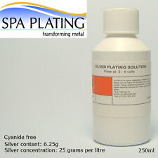 Silver Brush Plating Solution 250ml (Cyanide free)