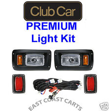 Club Car DS Golf Cart Complete Light Kit, Headlights & Taillights 1993-Newer