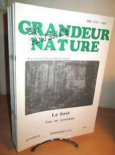 Grandeur Nature en Mayenne  22 numéros  - Nature- Environnement