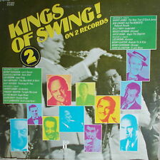 2 LP Kings Of Swing! - Various ,NEAR MINT,cleaned,USA Press. Pickwick ‎PTP-2072