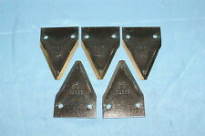 NOS OEM JARI Sickle Mower 102530 FIVE (5) SERRATED KNIFE SECTION -USPS SHIPPING!