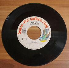"""Single 7"""" Vinyl GEBRÜDER BLATTSCHUSS // FRÜH - STÜCK / RONNIE RAKETE, DISC-Jocke"""