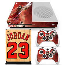 Xbox One S Console, Controller and Kinect Skin Set - NBA Jordan