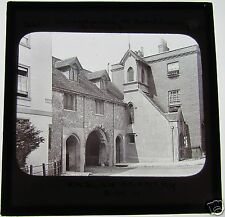 Glass Magic lantern slide ST SWITHINS CHURCH WINCHESTER 1890 GWW ENGLISH SCENERY