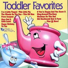 Toddler Favorites by Music for Little People Choir (CD, Mar-1998, Kid Rhino) NEW