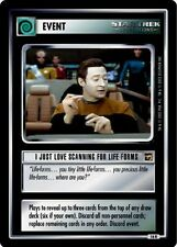 Star Trek CCG TMP The Motion Pictures I Just Love Scanning for Lifeforms 16R