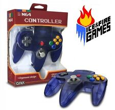 Funtastic GRAPE N64 Controller - New in Box (Nintendo 64) Clear Purple Joypad