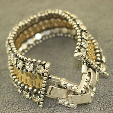 Stella And Dot Portia Bracelet Bangle Lady Cuff Charm Jewelry