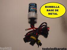 Bombilla base de METAL H7 HID para kit xenon 35w 8000kº 8000