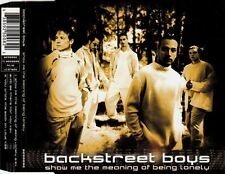 Backstreet Boys show Me the Meaning of Being Lonely MCD 1995 RAR & come nuovo 90s