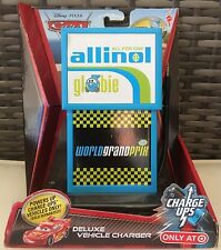 Disney Pixar CARS 2 Charge Ups - Allinol Deluxe Vehicle Charger NEW