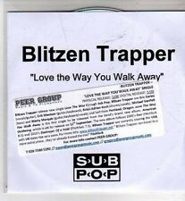 (CI309) Blitzen Trapper, Love The Way You Walk Away - DJ CD