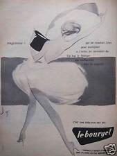 PUBLICITÉ 1958 LE BOURGET BAS TIP-TOP MAGICIENNE  - DESSIN DE DIAZ