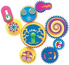 Gearation Refrigerator Magnets, Multicolored Gears Shape Toy Magnetic Decoration