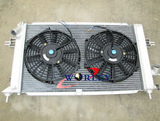 FOR Opel Vauxhall Astra VXR Z20LEH Turbo Engine Alloy Aluminum Radiator & FANS