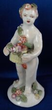 Nice 18thC Bow Porcelain Putto Figurine Figure Porzellan Figur English England