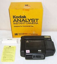KODAK ANALYST INSTANT CAMERA--FOR COMMERCIAL USE--ORIGINAL BOX, BOOKLET