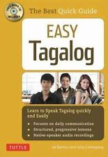 Easy Tagalog: Learn to Speak Tagalog Quickly (CD-ROM Included), Camagong, Julia,