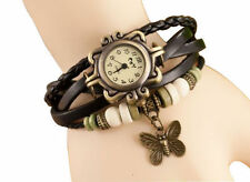 Beaded Bracelet Style Vintage Wrist Watch with Free Sunglass worth Rs.100/-