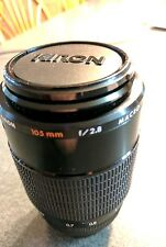 Kiron 105MM F2.8 Macro Lens for Nikon Mount Excellent, Clean Glass