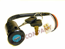 4 Wire Ignition Switch Key fits most 50cc - 150cc ATV Parts, Quads, Bikes