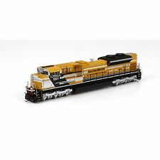 ATHEARN ATHG68723 SD70ACe DCC READY, EMD CATERPILLAR CAT DEMONSTRATOR  #1201