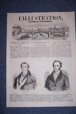 L'ILLUSTRATION 147 20/12/1845 LORD WELLINGTON ET PALMERSTON ELEPHANT LE CAUCASE