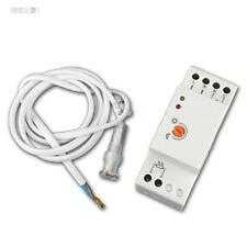 Dämmerungssensor / Dämmerungsschalter, Schalttafel-Einbau, IP65, 230V, Schalter
