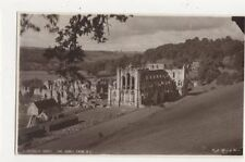 Rievaulx Abbey From NE Vintage RP Postcard 432a