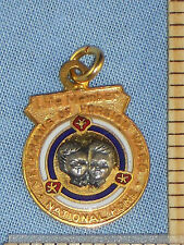 Life Member Pendant Veterans of Foreign Wars VFW National Home 1/10 10K Gold Fil
