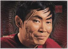 1996 SKYBOX 30 YEARS OF STAR TREK DOPPLEGANGER: SULU #F3 FOIL CHASE INSERT CARD