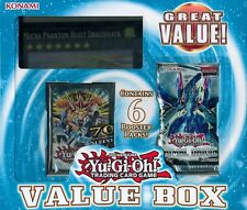 Yu-Gi-Oh 2015 Value Box - Dracossack, Six Boosters & Legendary Card Sleeves!