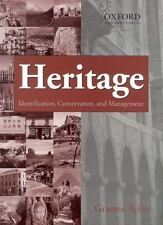 Heritage: Identification, Conservation and Management (Oxford India Pa-ExLibrary
