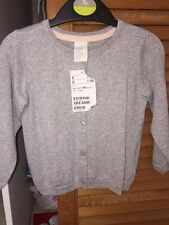 Baby Girl Clothing H & m Brand New Cardigan Silver Size 9-12 Months Knitwear