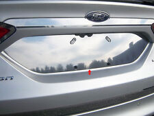 2013 2014 2015 2016 2017 FORD FUSION 1PC STAINLESS STEEL LICENSE PLATE TRIM