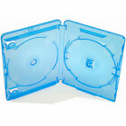 Blu Ray Case 14mm Spine (Double) Face on Face Genuine Amaray FAST UK DISPATCH !